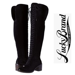Stylish & Edgy Lucky Brand OTK Boots